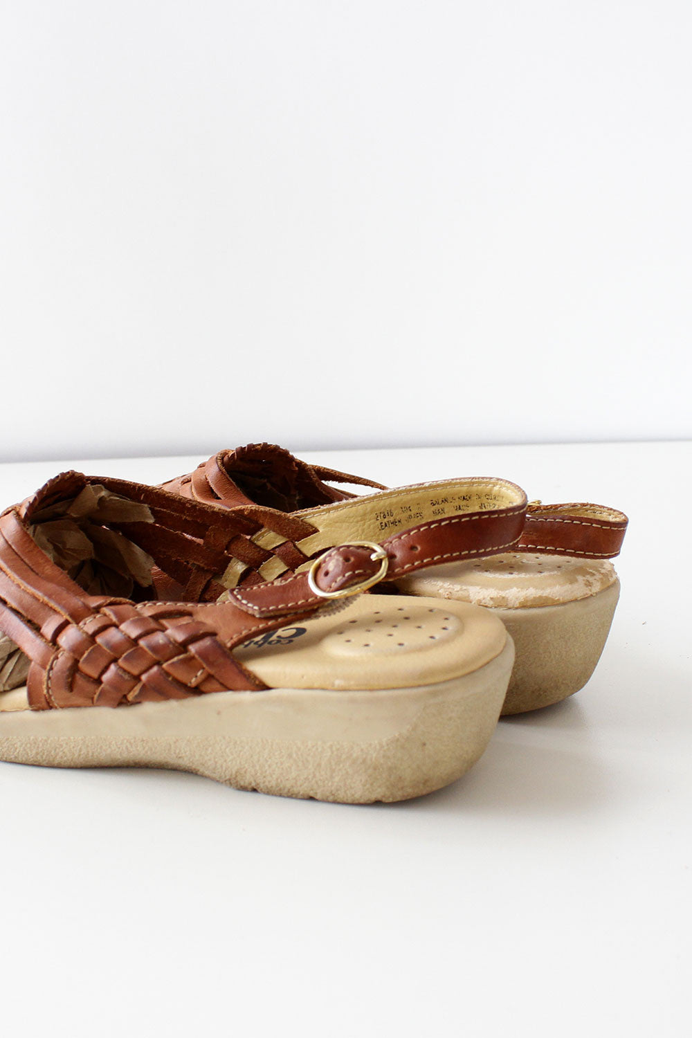 Cobbie Huarache Wedge Sandals 8
