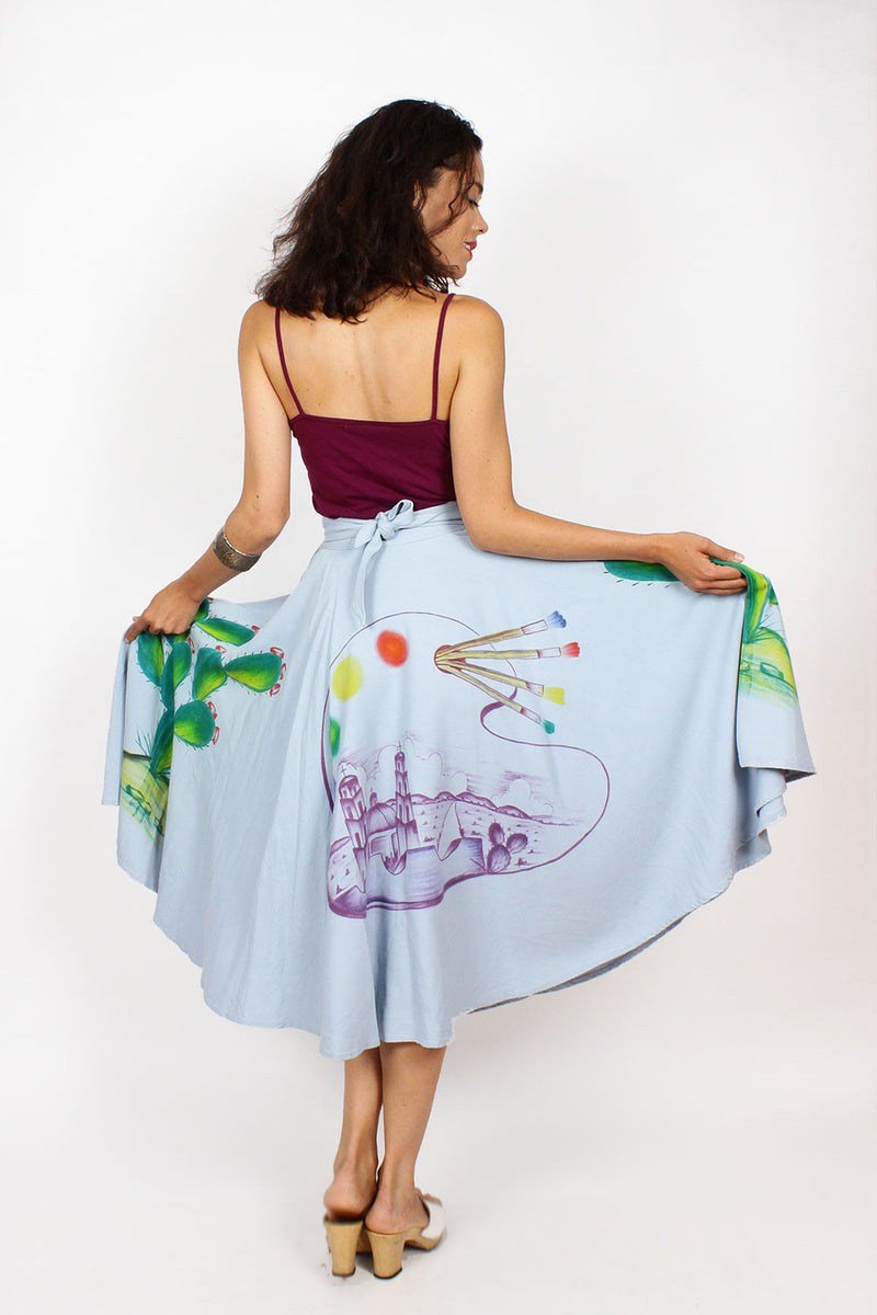 Cacti Circle Skirt XS/S