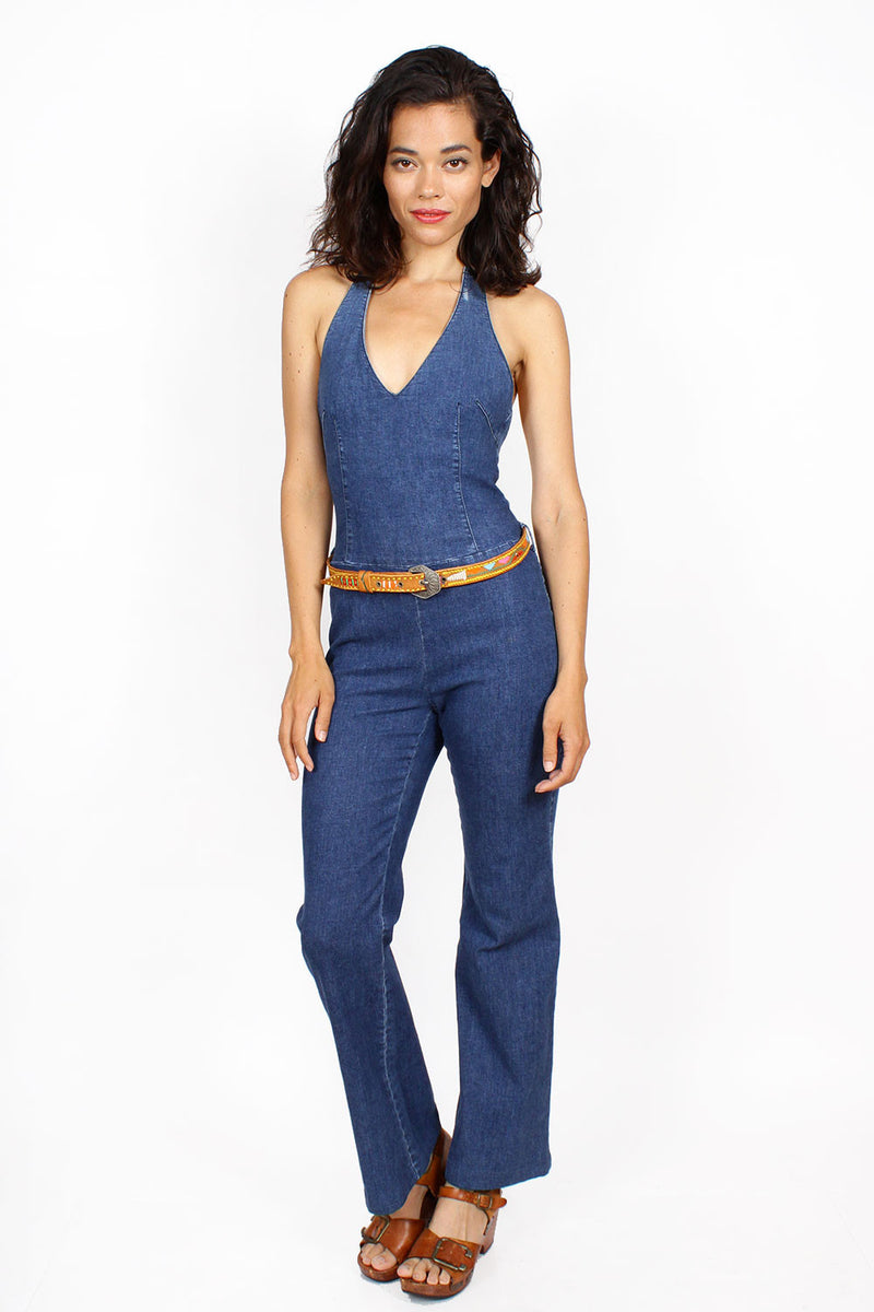 Theory Denim Jumpsuit S