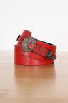 Scarlet Etched Harness Belt