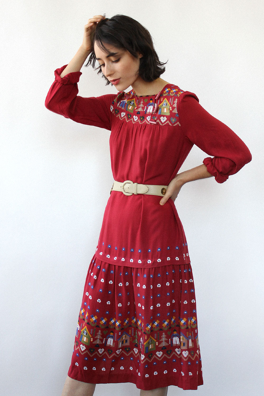 Folktale Toggle Dress XS-S/M