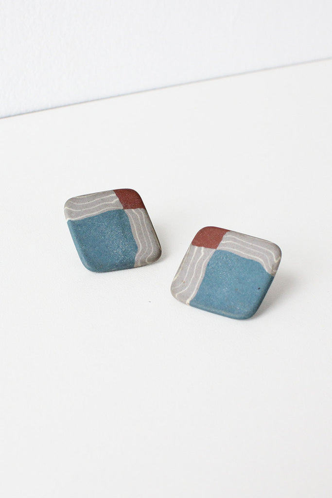 Earthy Ceramic Earrings