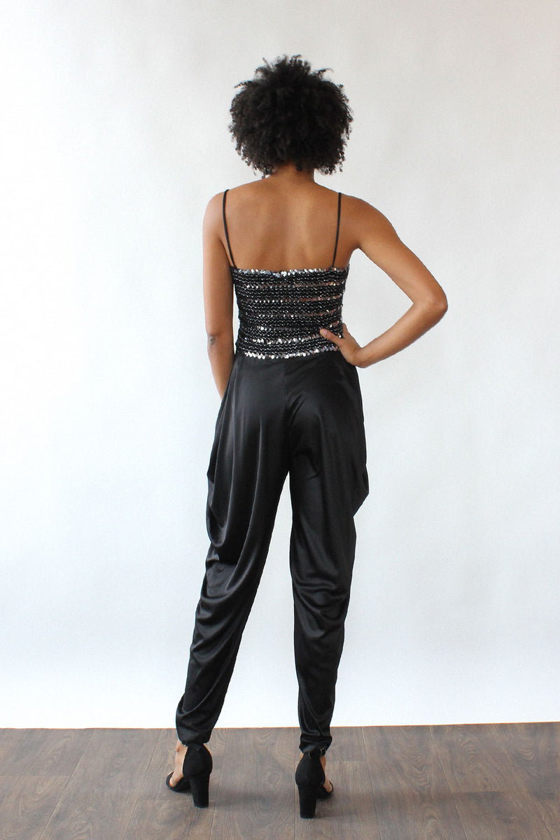 Diamond's Run Harem Jumpsuit XS-M