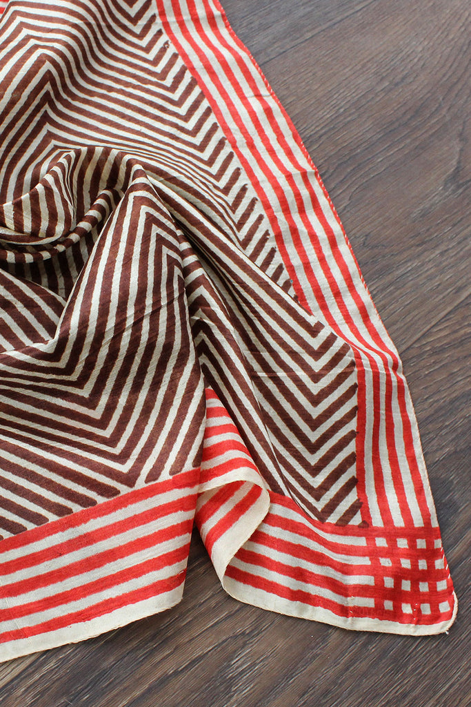 Optic Silk Scarf
