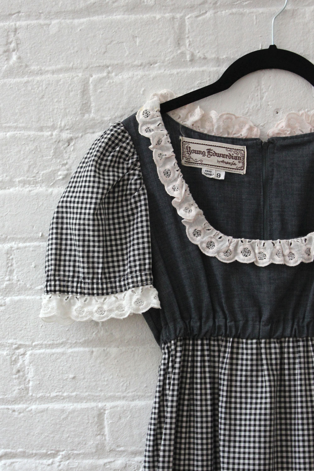 Young Edwardian Gingham Maxi XS/S