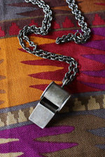 Sterling Whistle Necklace