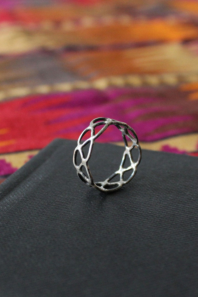 Sterling Braid Ring