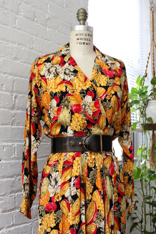 Cacharel Floral Buttondown S/M