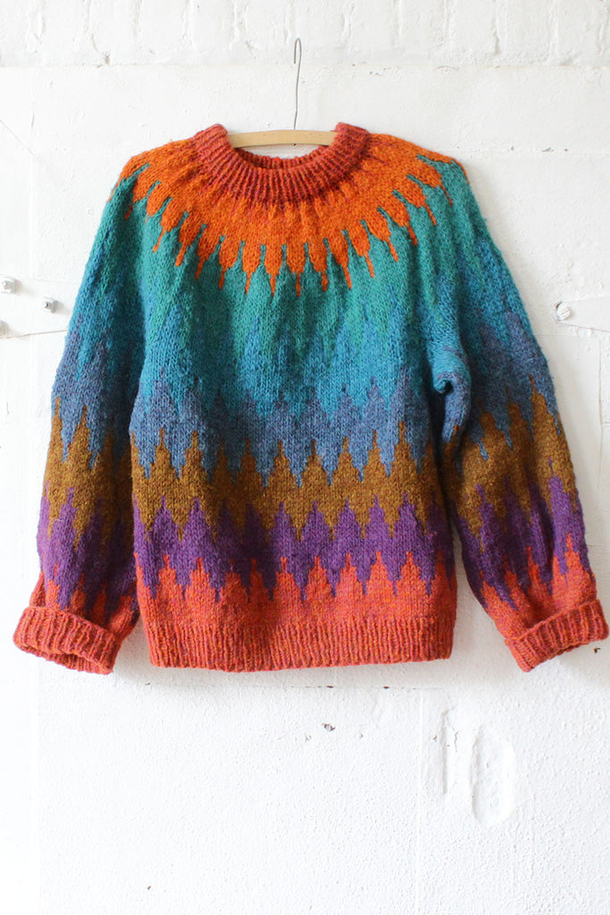 Starburst Wool Sweater
