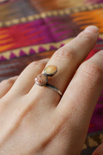 Mars Stone Sterling Ring