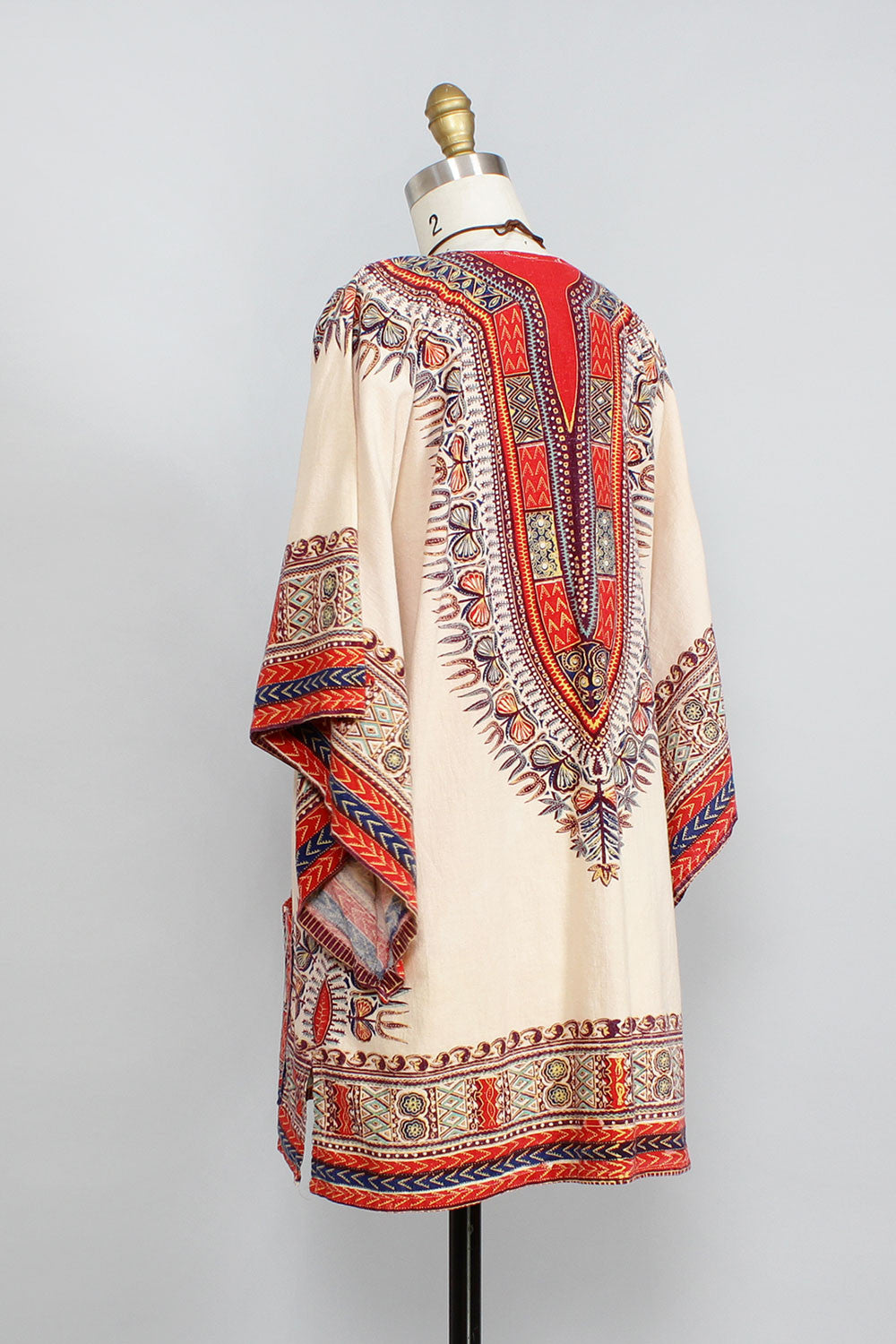 70s Chaka Dashiki Tunic/Dress