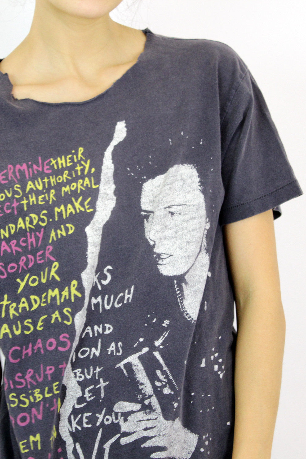 Sid Vicious Distressed T-shirt