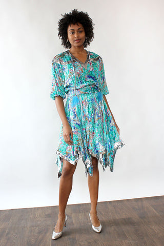 Stevie Drape Dress XS/S