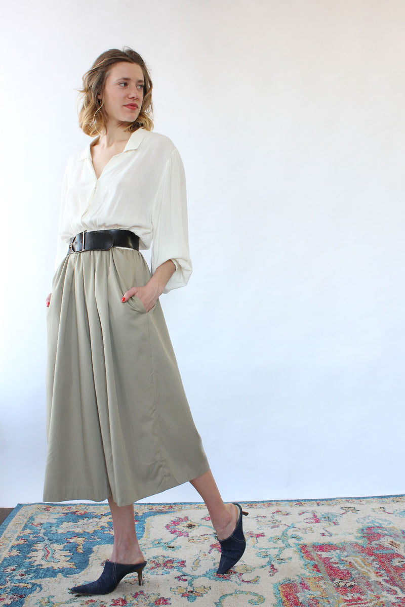 Neutral Gaucho Jumpsuit M/L