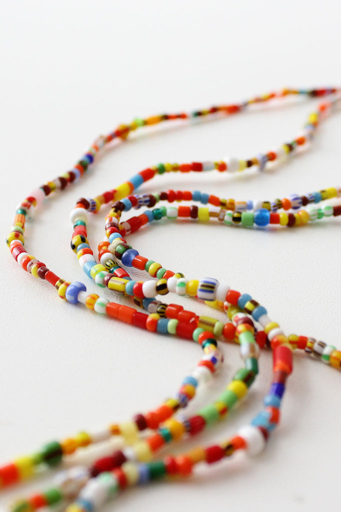 Colors of the World Beaded Necklace
