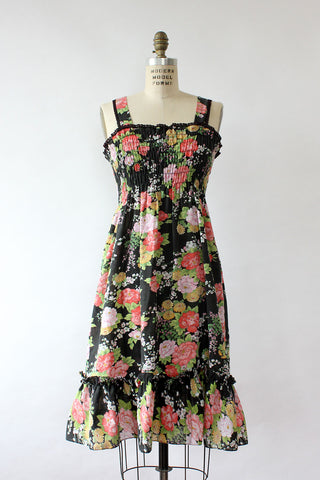 Darjeeling Floral Dress S/M