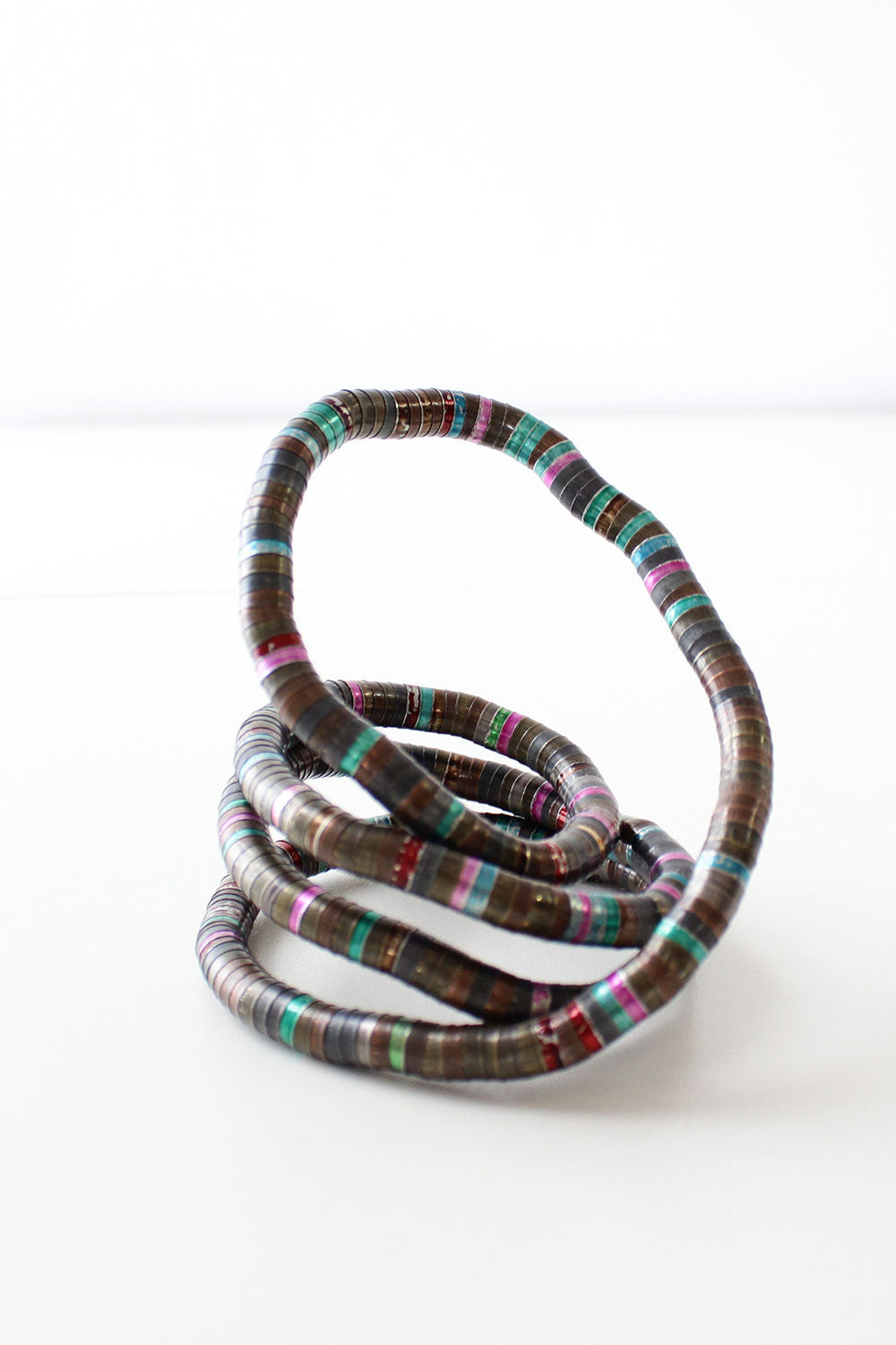 Slithering Coil Necklace