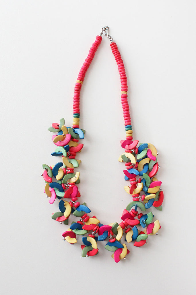 Shape Up Rainbow Necklace