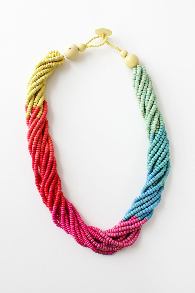 Rainbow Row Necklace