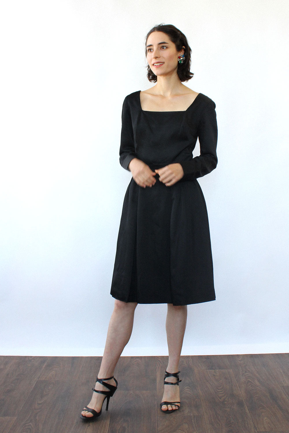 Mr. Mort Square Pleat Dress XS/S