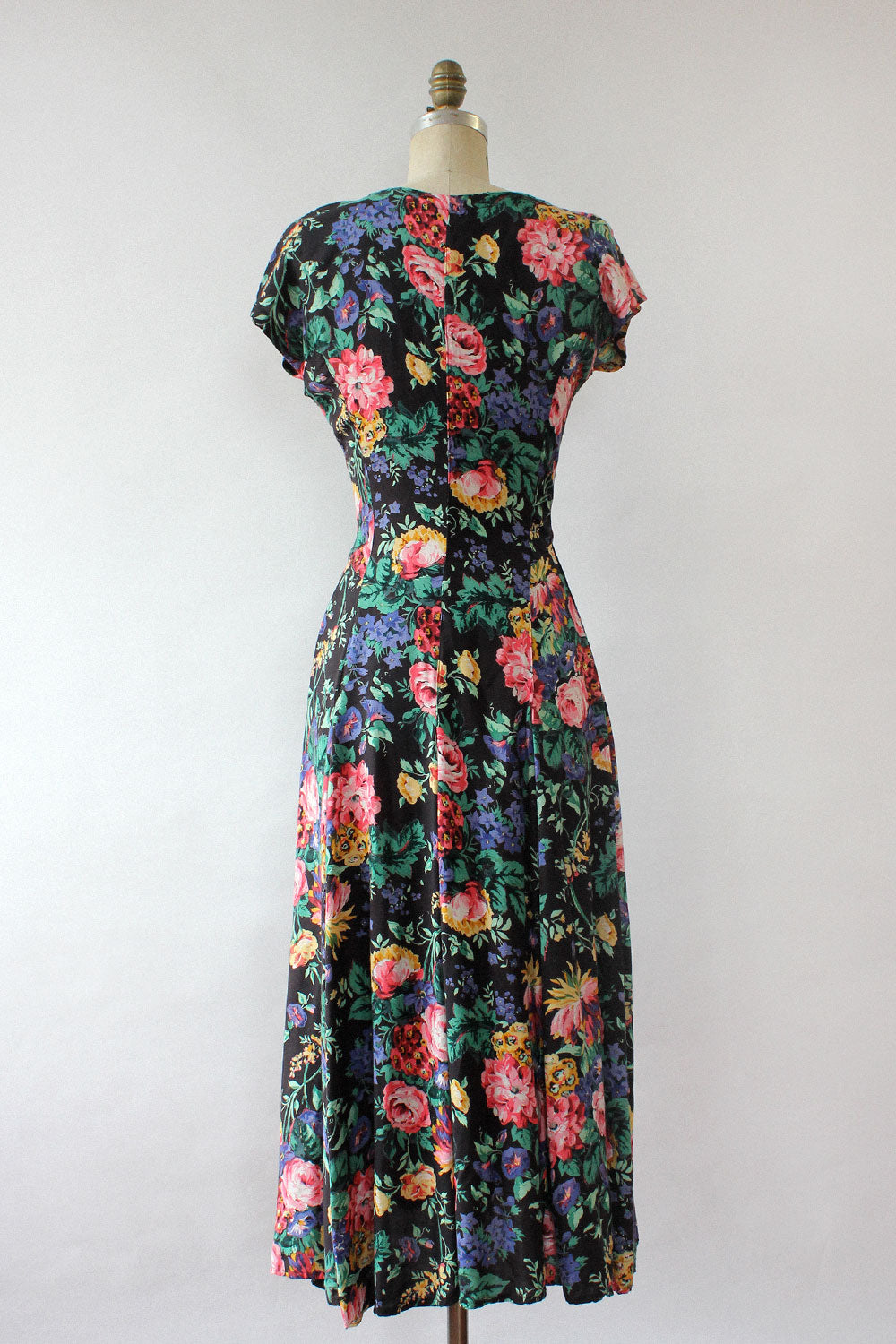 Starina Moody Floral Dress S/M