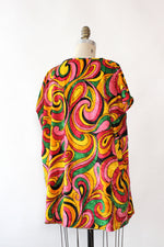 Psychedelic Swirl Top L
