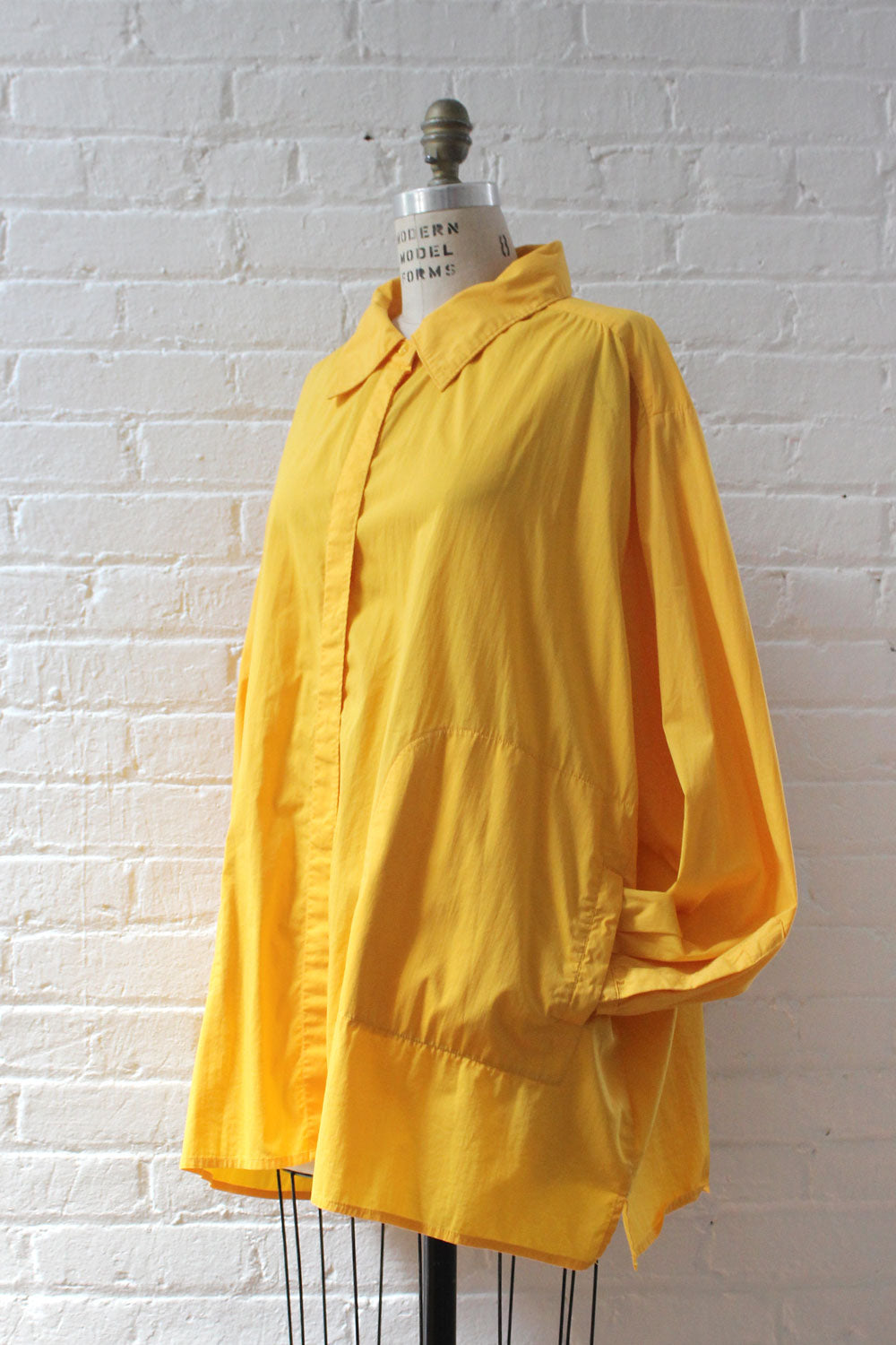Marigold Oversized Pocket Blouse