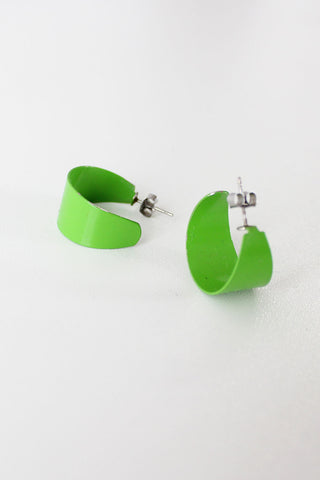 Lime Green Hoops