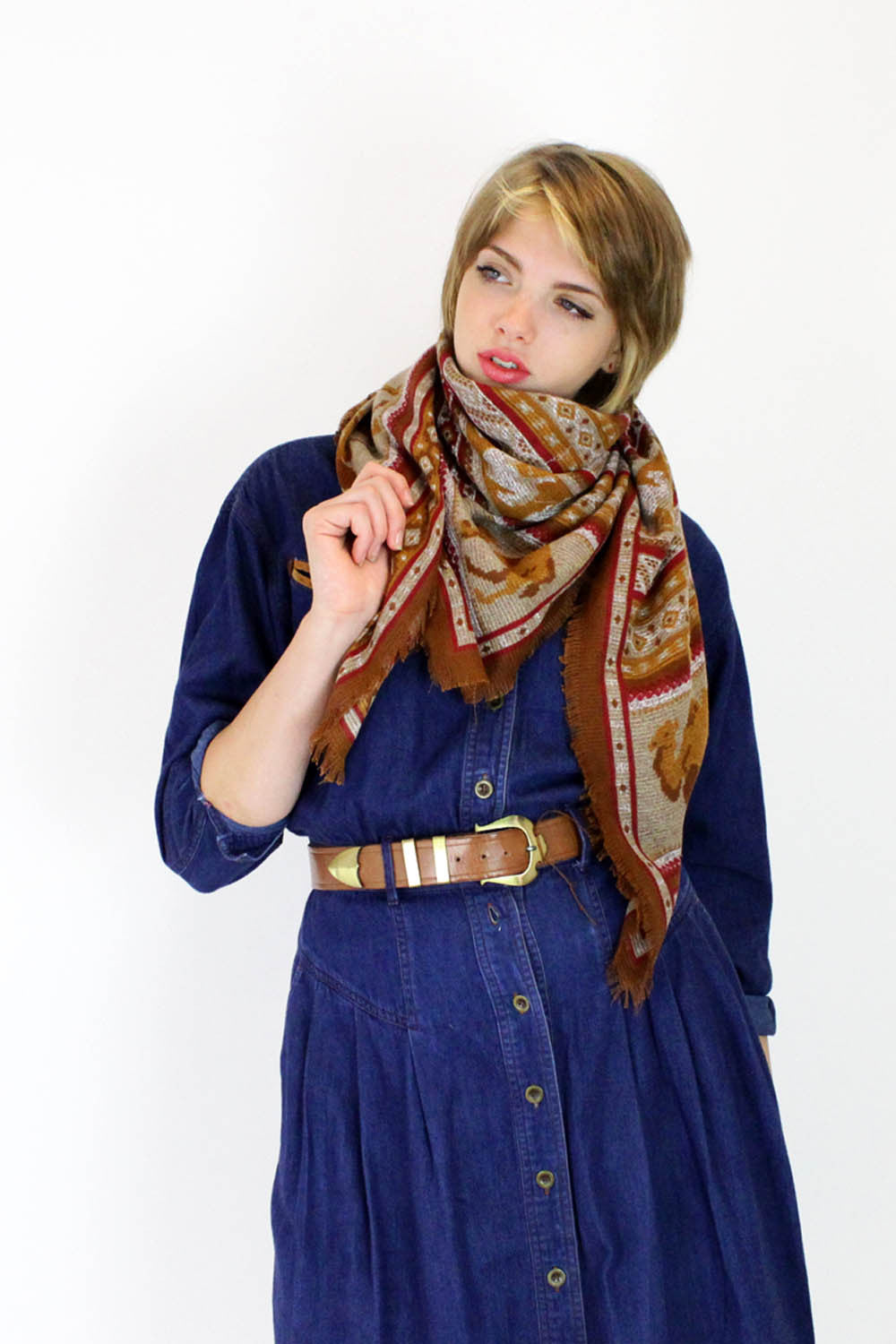 Camels Crossing Scarf