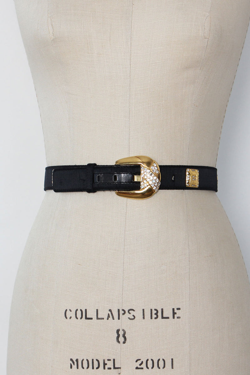 Escada Couture Rhinestone Belt