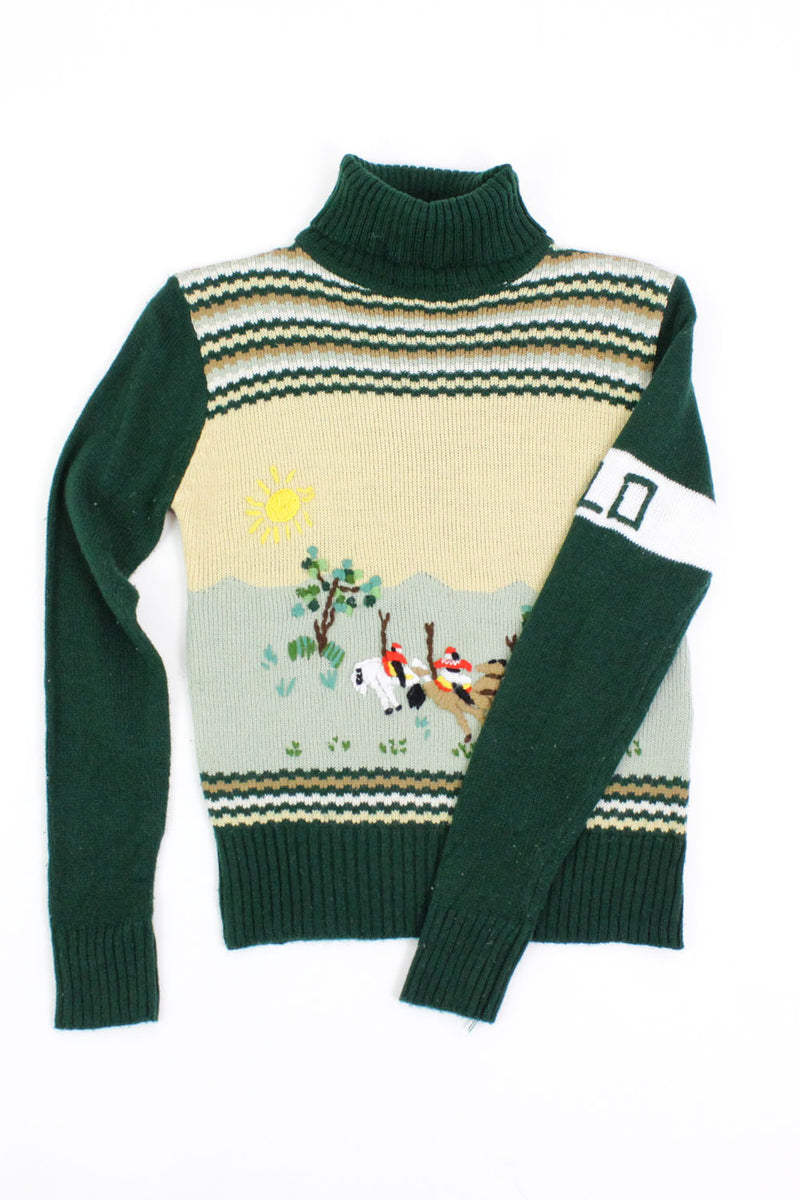 Polo Scene Turtleneck