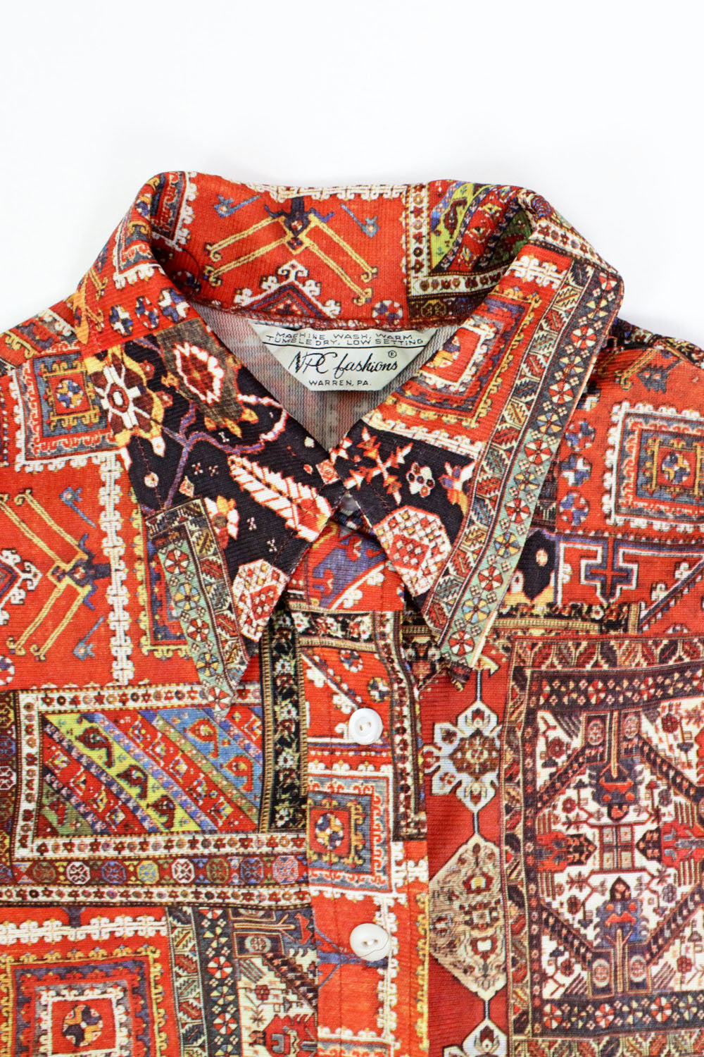 Kilim Print Buttondown M