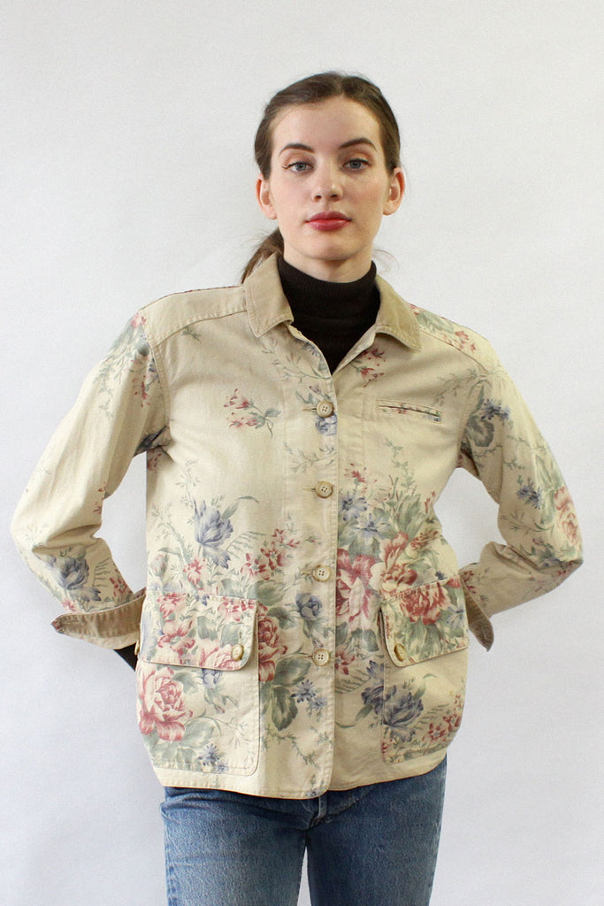 Canvas Tapestry Jacket S/M