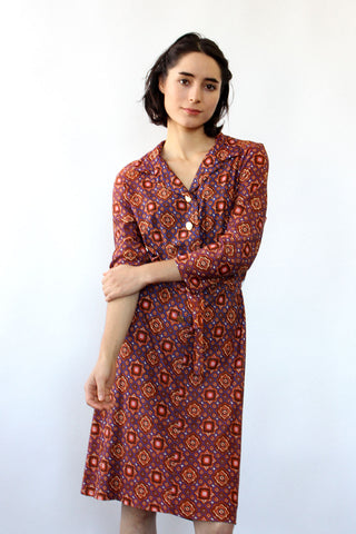 Yellow Rose Caftan Dress XS-M