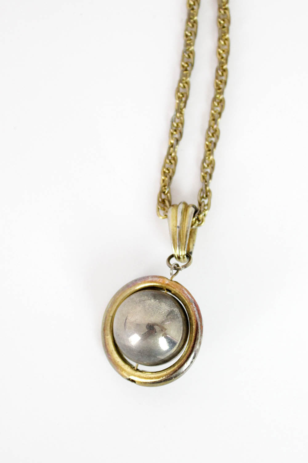 Saturn Pendant Necklace