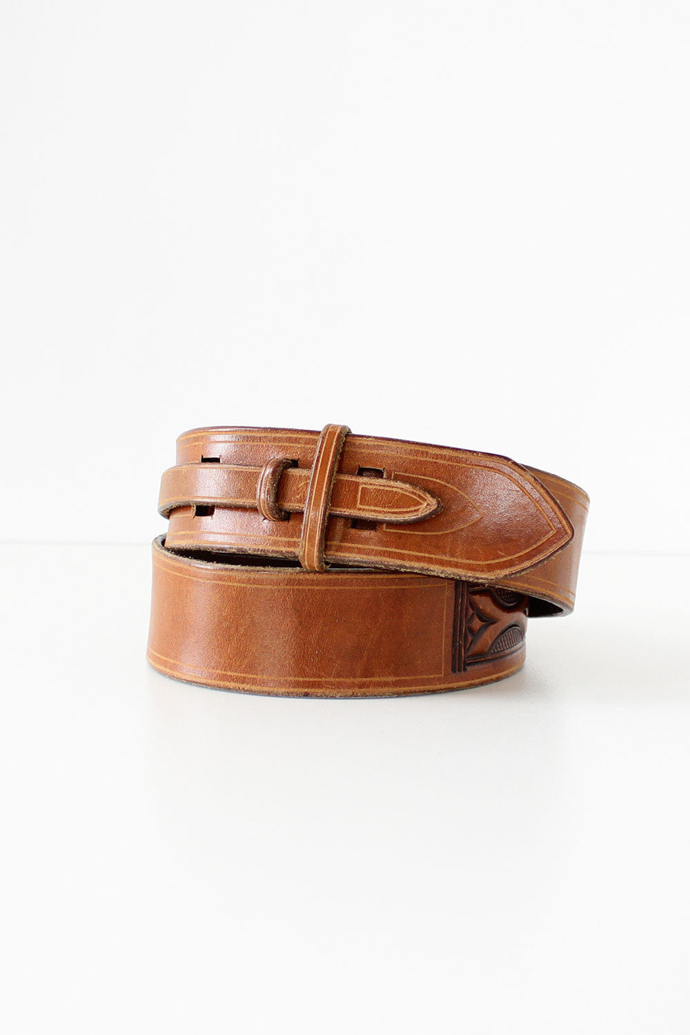 Eastlake Leather Cinch Belt