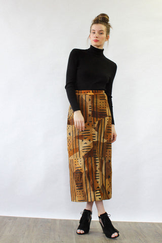 Pixelated Wiggle Skirt XS