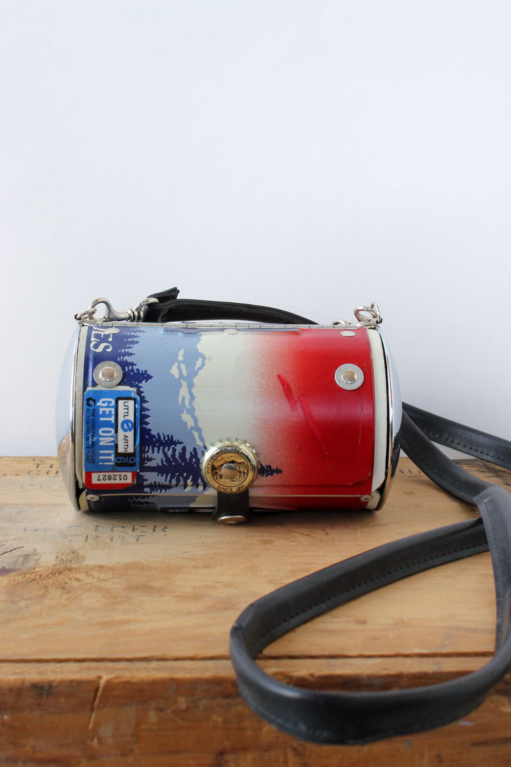 Little Earth License Plate Purse