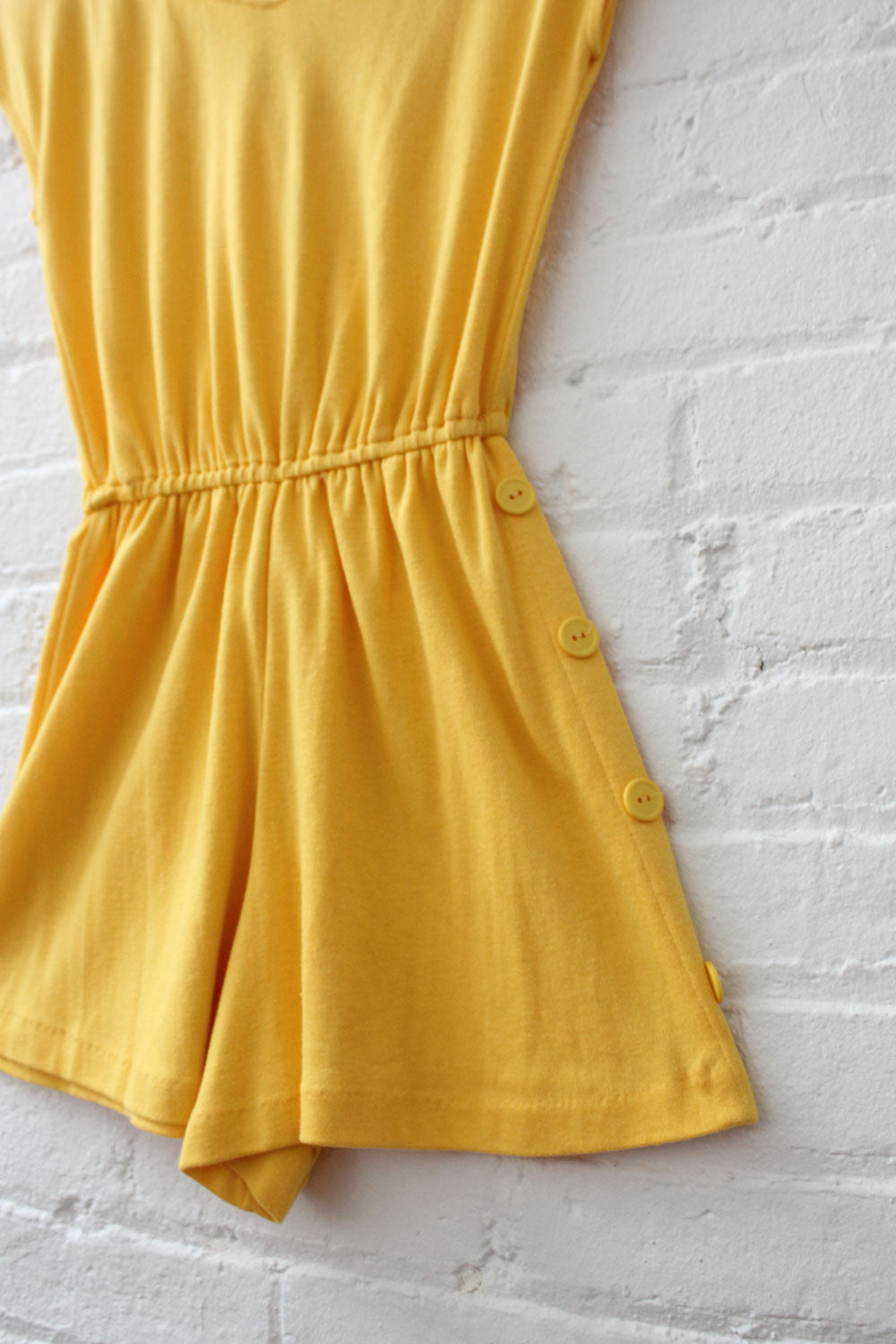 Canary Yellow Soft Romper XS/S