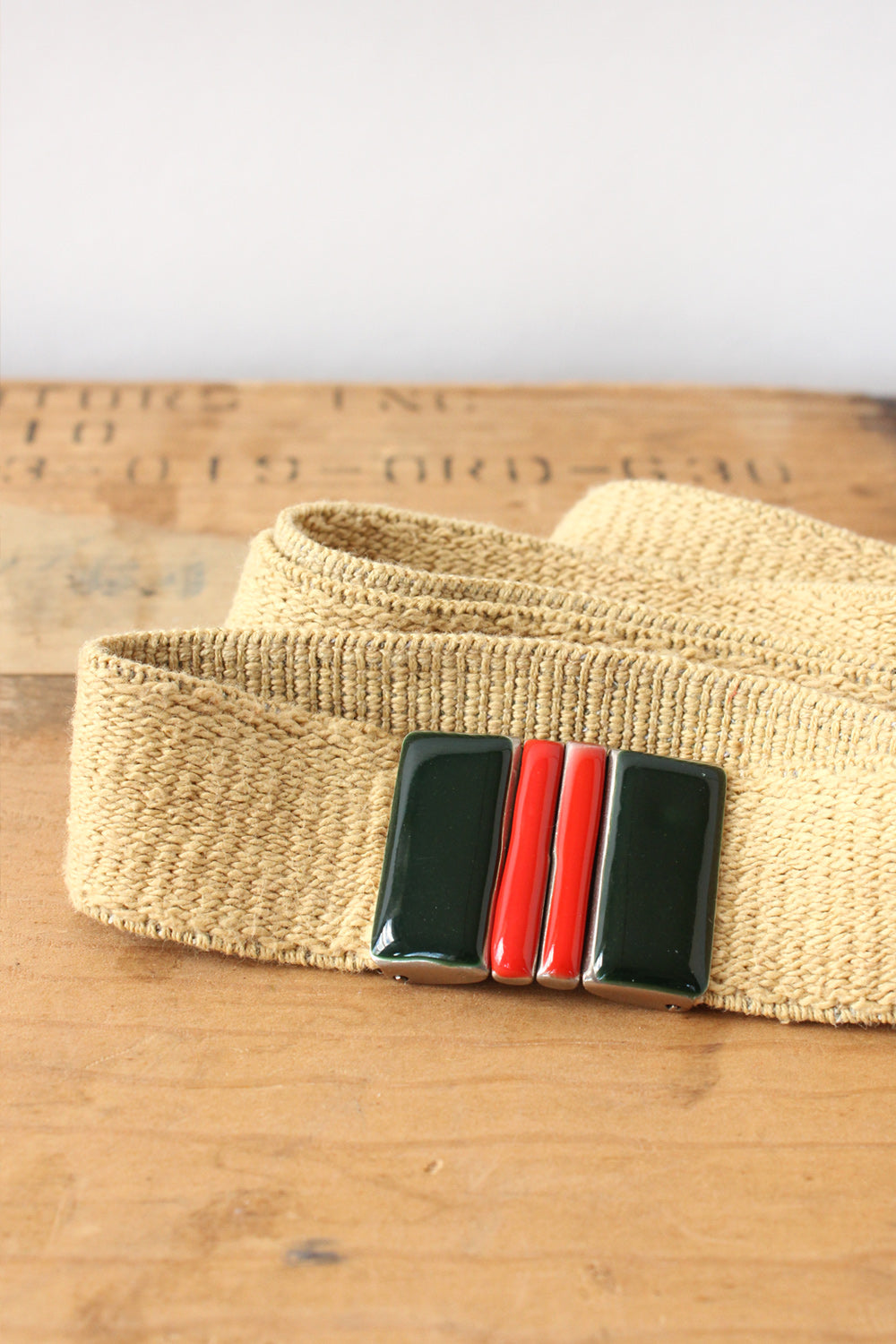 Enamel Slider Belt