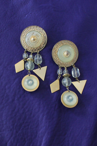 Skimming Statement Earrings