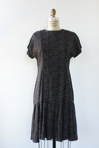 Drop It Like It's Dot Dress S/M