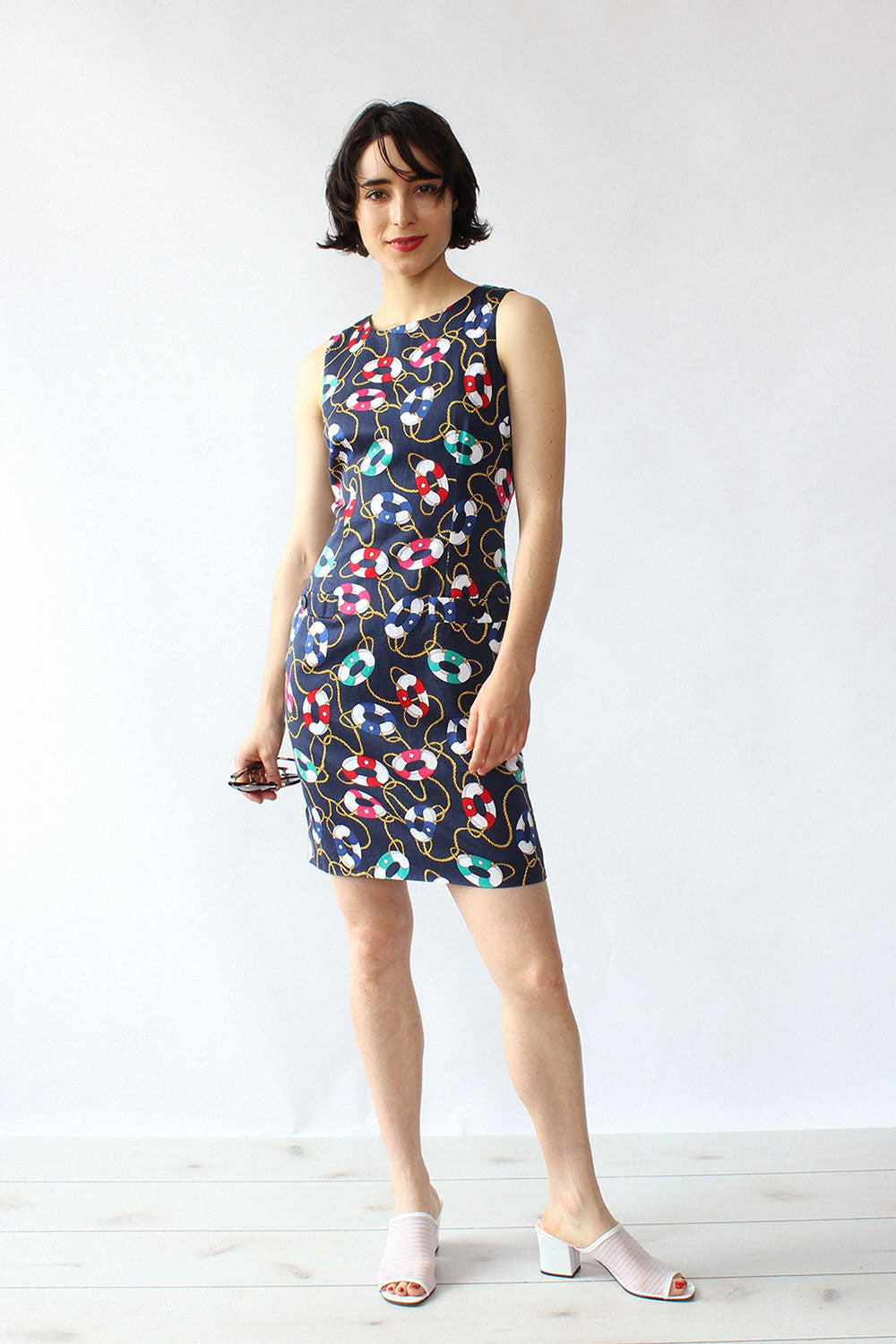 Life Saver Novelty Print Dress S/M