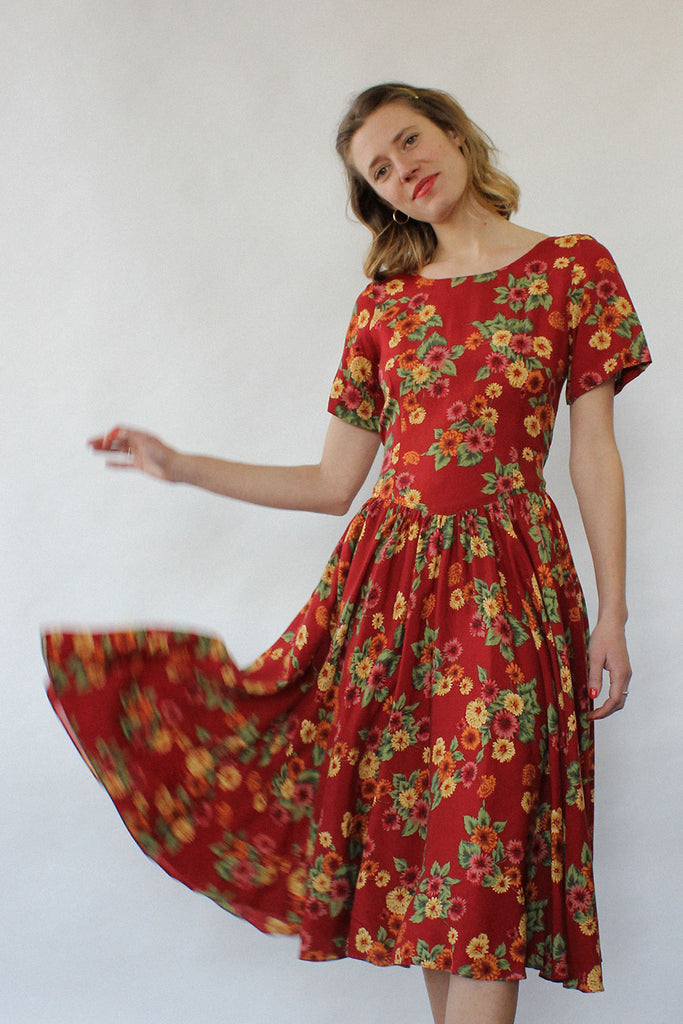 Meadow Day Dress S