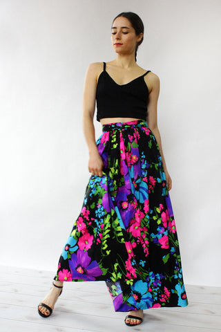 Tropical Nights Wrap Skirt XS/S