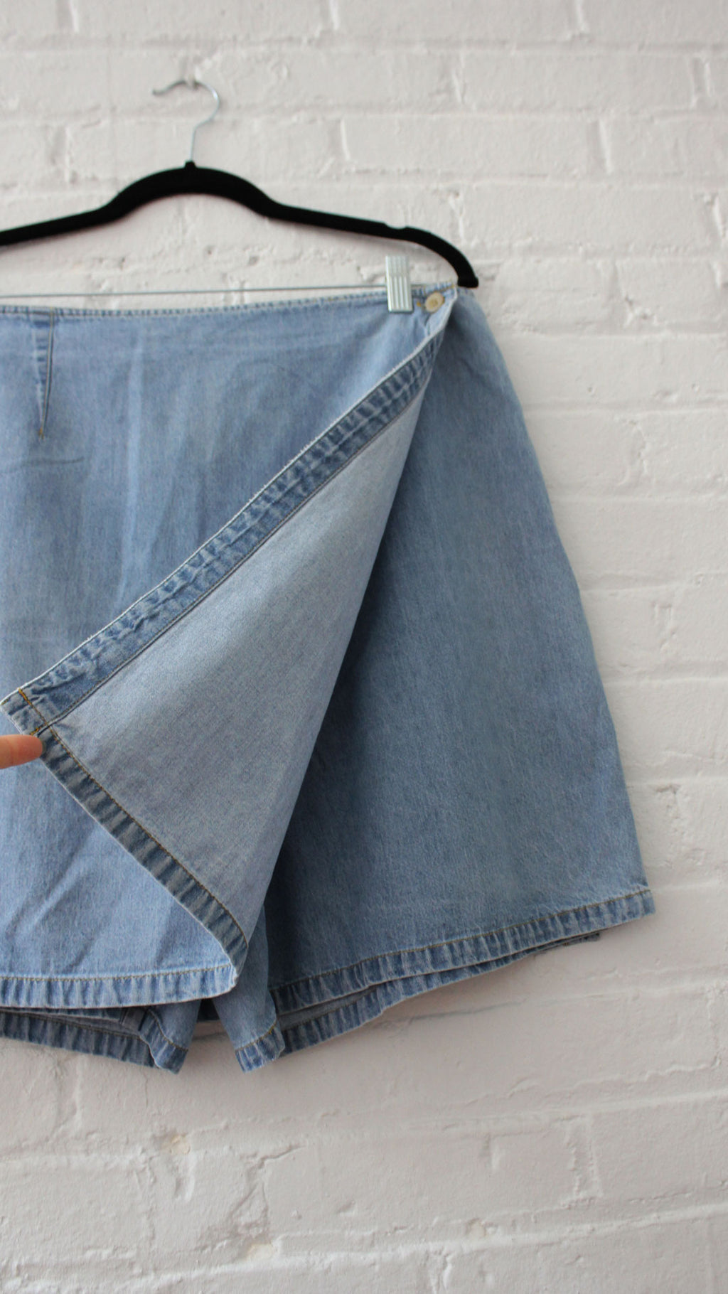 Lightwash Denim Skort L/XL
