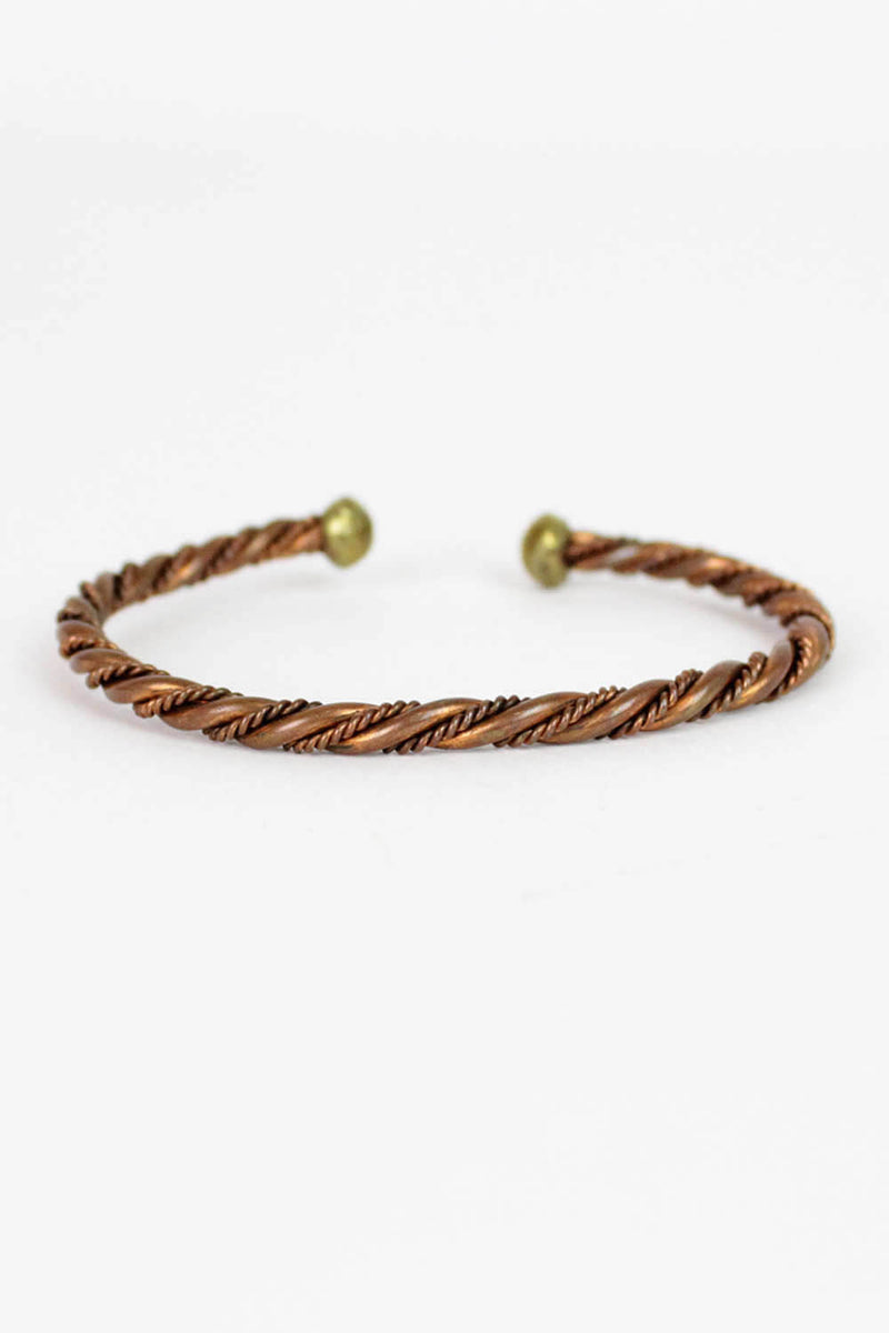 Marley Twist Copper Bracelet