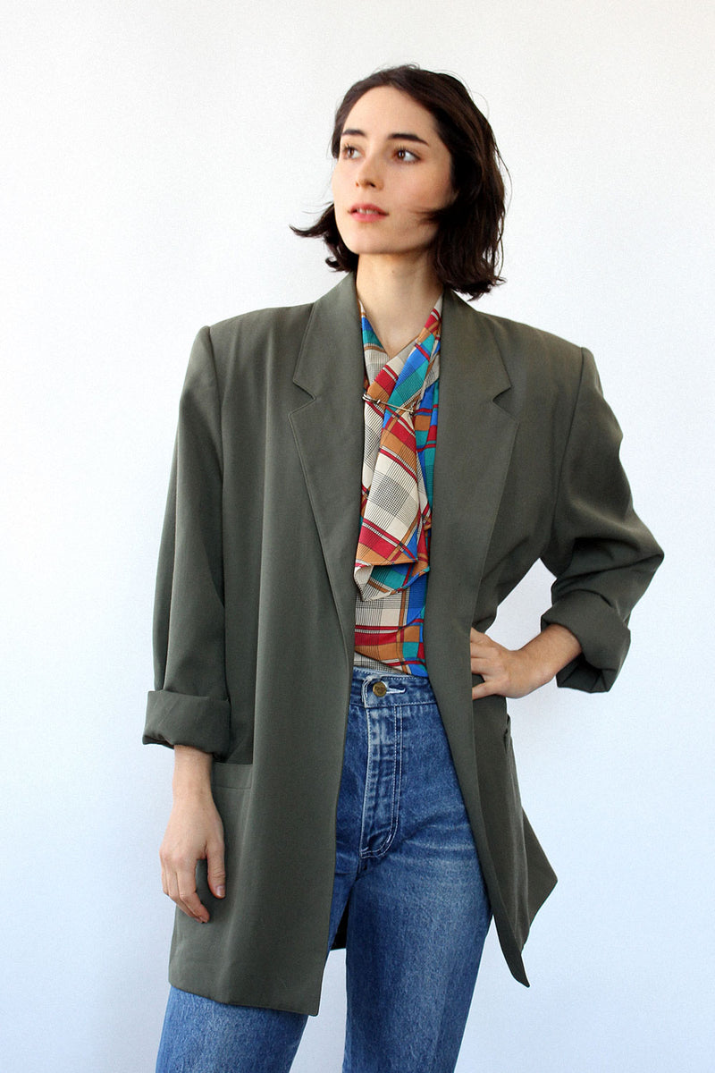 Olive Power Blazer M/L