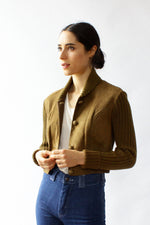 Mr. Mort Suede Crop Jacket XS/S