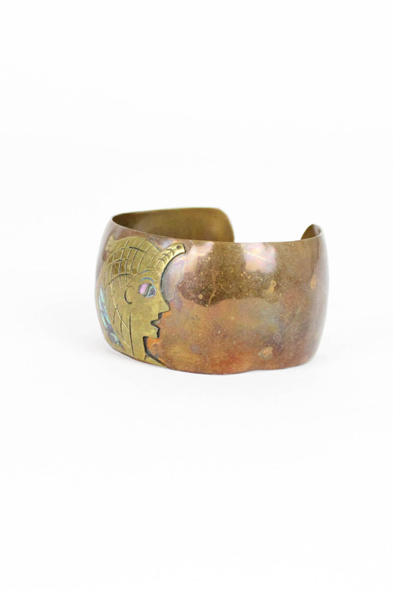 Egyptian Inlay Cuff